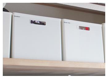 サイズもカラーも豊富な「Nインボックスシリーズ」はお気に入りの収納アイテムです。