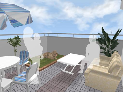 収納として活用する屋根裏部屋とアウトドアリビングが楽しめる屋上庭園の両立は可能かどうか探っていきます。
