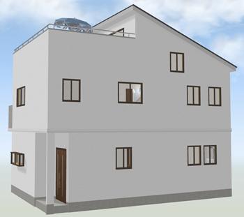 3階建てに対応できる建物性能を持っている場合は、意外に追加費用が変わらない場合も。