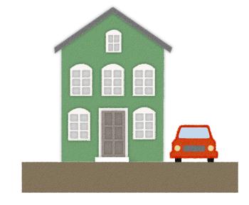 間取りを考える前に、車・人が敷地に出入するルート、バイクや自転車の台数等、検討しておきましょう。