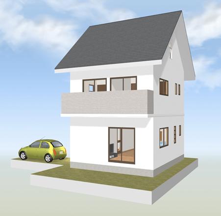屋根裏空間を利用しているため、天井や壁の使いづらさは出てきます。